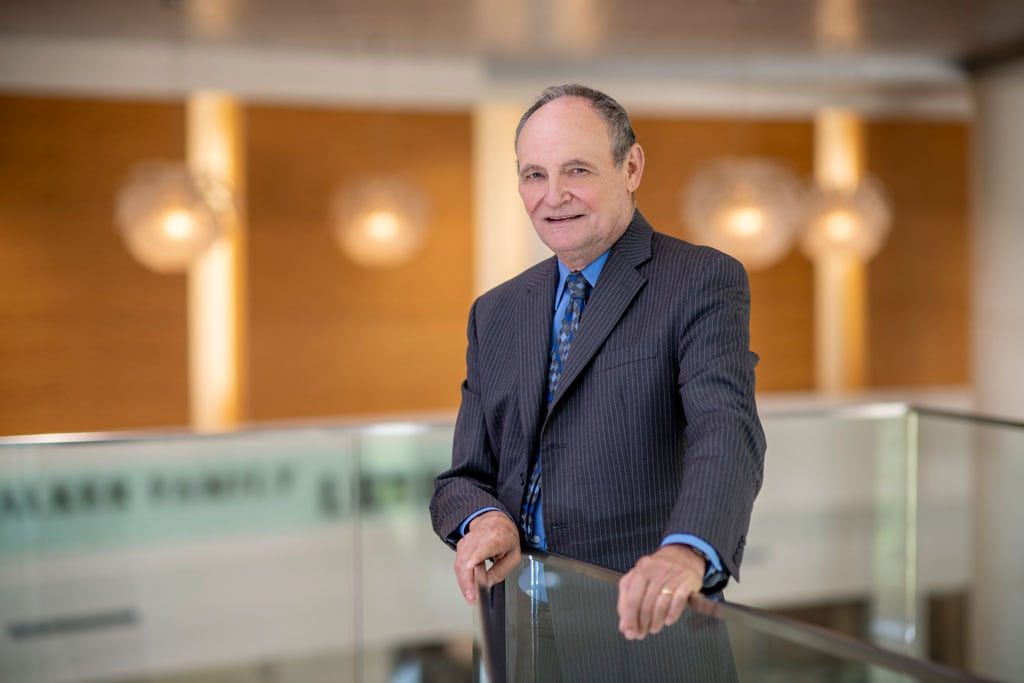 Michael Birrer, M.D., Ph.D., UAMS Vice Chancellor and Director of Winthrop P. Rockefeller Cancer Institute